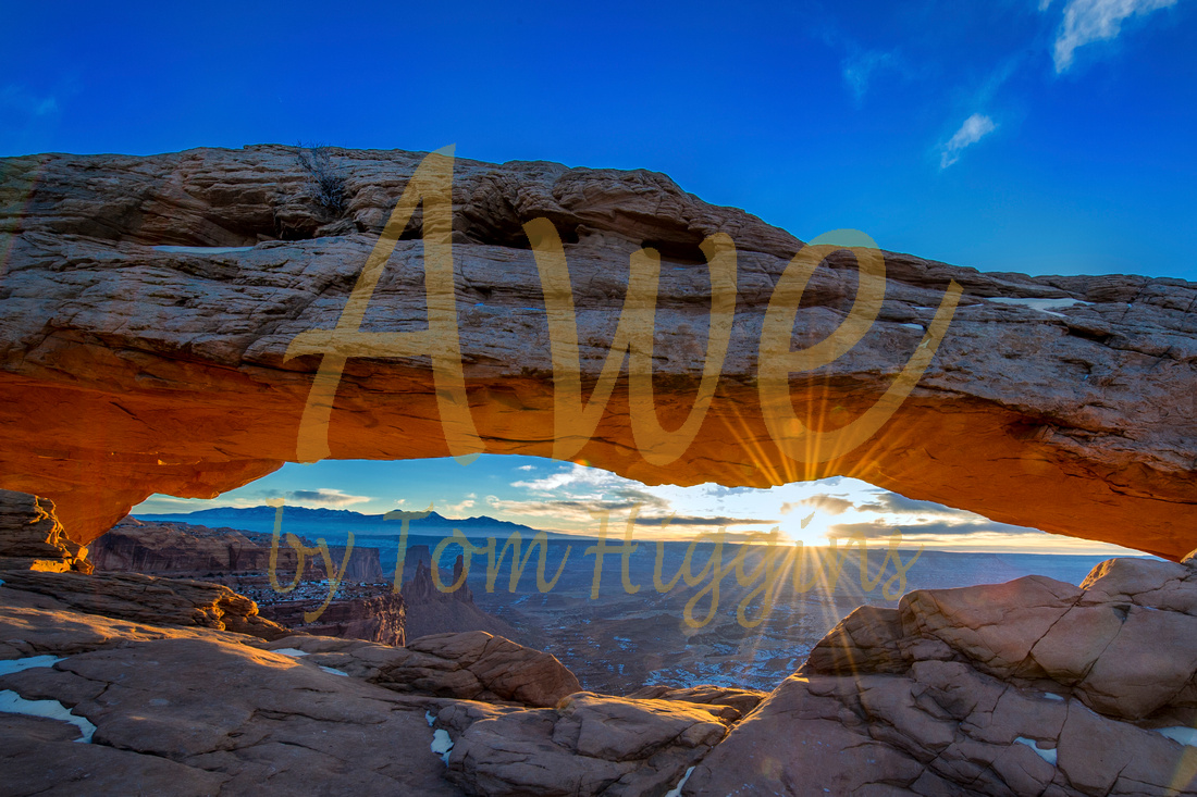 Mesa Arch Sunrise Captured Awe Thomas P Higgins