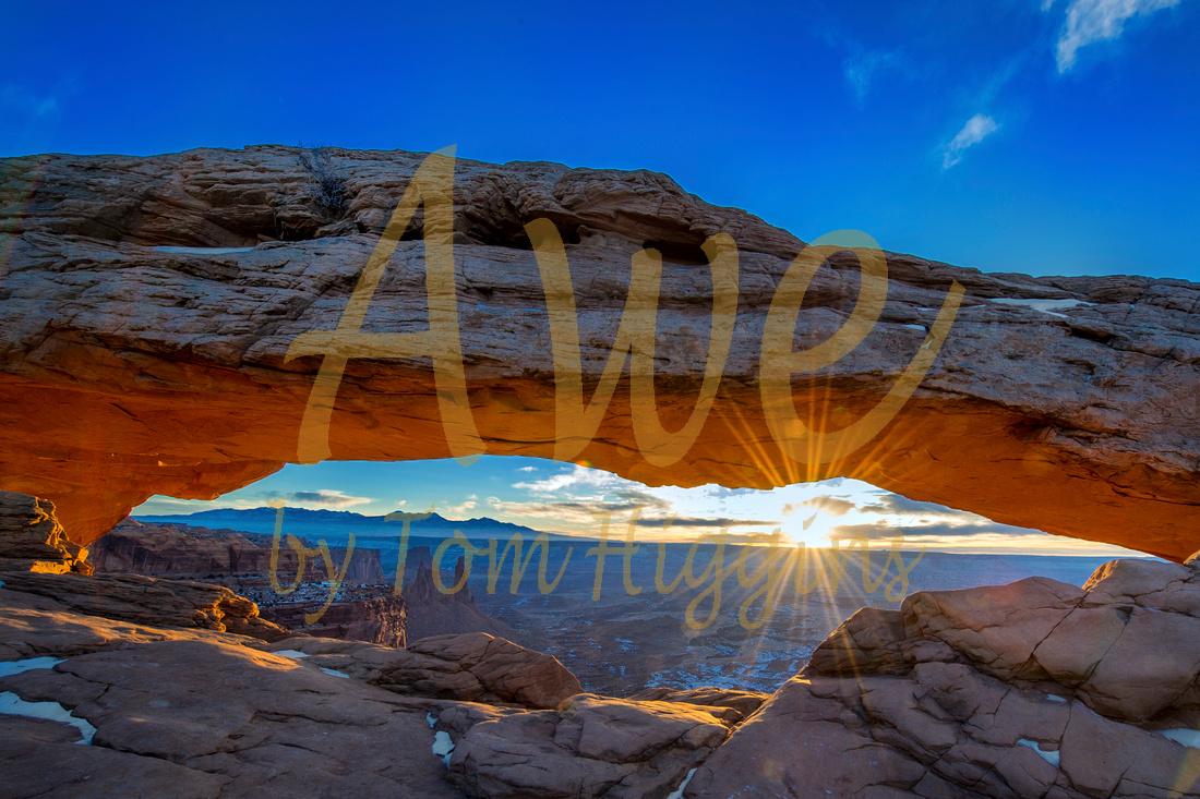Mesa Arch Sunrise Captured Awe Thomas P Higgins